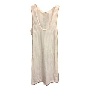 NWT The Essential Waffle Knit Pink Tunic Tank Top